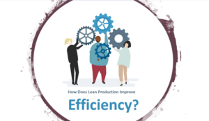 how does lean production improve efficiency