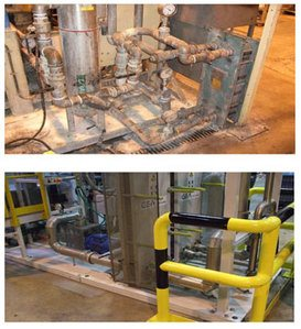 Clean and Check Example - Fixing a machine and protecting from damage